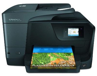 HP OfficeJet Pro 8710 All-in-One Wireless Printer