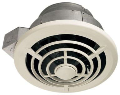 NuTone Exhaust Fan, White Vertical Discharge Ceiling Ventilation Fan