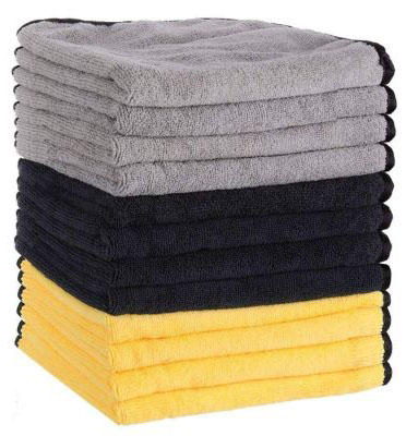 MATCC Microfiber Cleaning Cloths 12 Pack Premium Microfiber Towels