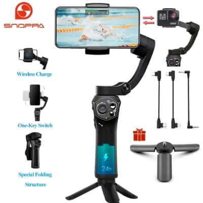 Snoppa Atom 3-Axis Foldable Pocket Sized Handheld Gimbal Stabilizer