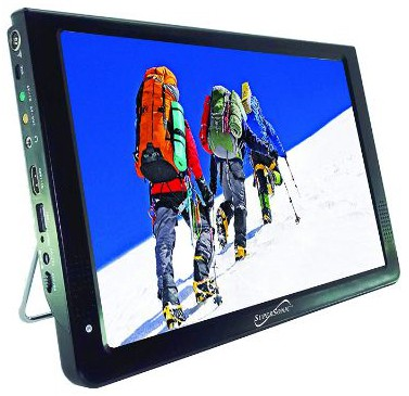 SuperSonic Portable Widescreen LCD Display with Digital TV Tuner