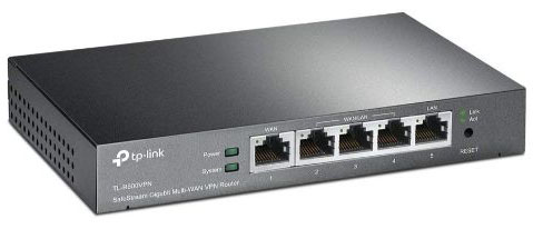 TP-Link SafeStream TL-R600VPN Gigabit Broadband Desktop VPN Router