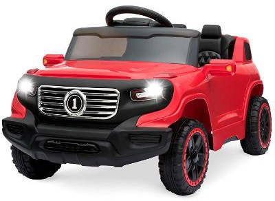 Best Choice Products Kids 6V Ride-On Truck with Parent Remote Control, 3 Speeds, LED Lights
