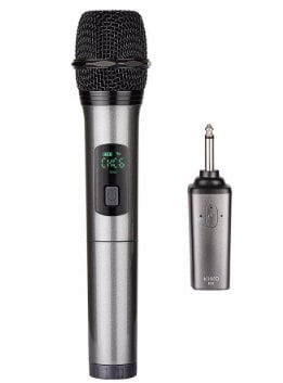 ARCHEER Bluetooth Wireless Microphone, UHF Handheld Dynamic Microphone