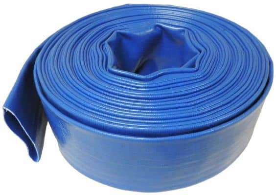 HydroMaxx 2 Diameter x 100' Heavy Duty Lay Flat Discharge and Backwash Hose