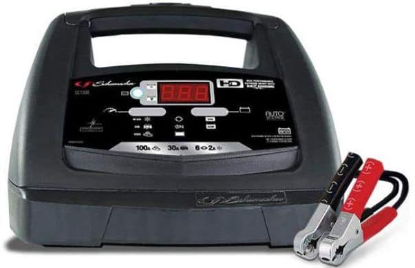Schumacher SC1308 6:12V Fully Automatic Battery Charger and 30:100A Engine Starter