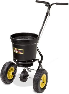 Brinly-Hardy 20 Series with Poly Hopper, 50-Pound Capacity