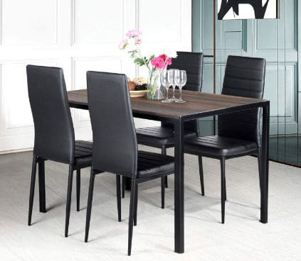 Aingoo Kitchen Chairs Set of 4 Dining Chair