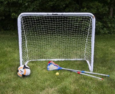 Franklin Sports Steel Goal - All Sport Soccer, Lacrosse Field Hockey and Street Hockey Goal