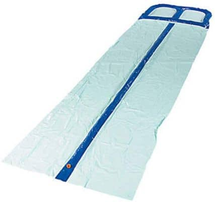 Inflatable Water Slip and Slide with Water Spraying Channels 2 lanes size 52 x 16 ft.