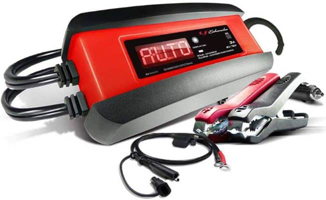 Schumacher SP1297 6:12V Fully Automatic Battery Charger and 3A Maintainer