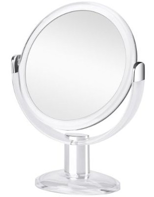 Orange Tech Double Sided Magnifying Makeup Mirror