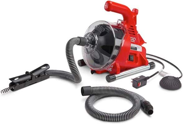 Ridgid 55808 PowerClear Drain Cleaning Machine 120V Drain Cleaner Cleans Tub