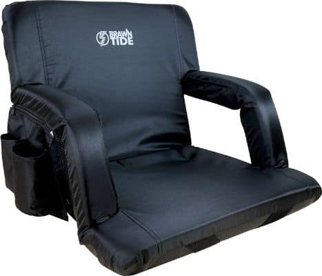 Brawntide Portable Stadium Seat Chair - Extra Thick Padding