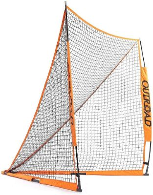 Outroad Portable 6x6 ft Official Folding Lacrosse Goal, Collapsible for Practicing