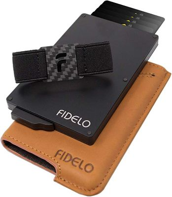 FIDELO Minimalist Wallet for Men
