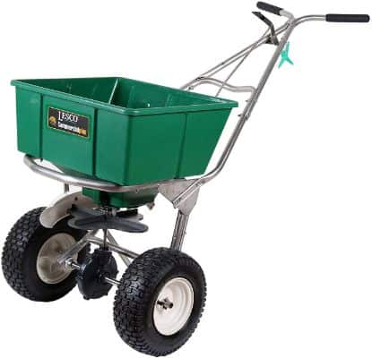 Lesco High Wheel Fertilizer Spreader with Manual Deflector - 101186 - Replaces 091186 (Pack of 2)