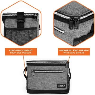 OPUX Premium Lunch Box, Insulated Lunch Bag for Men