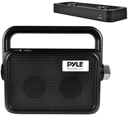 Pyle Wireless TV Speaker | Portable TV Soundbox