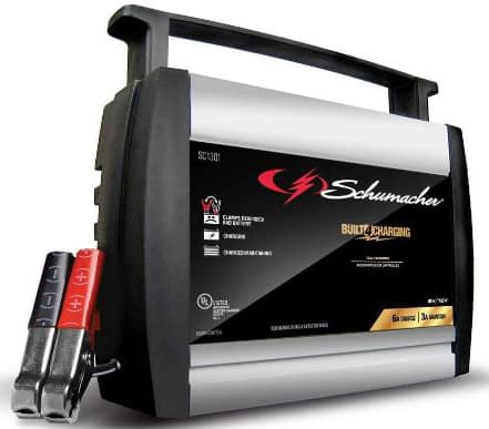 Schumacher SC1301 6:12V Fully Automatic Battery Charger and 6A Maintainer