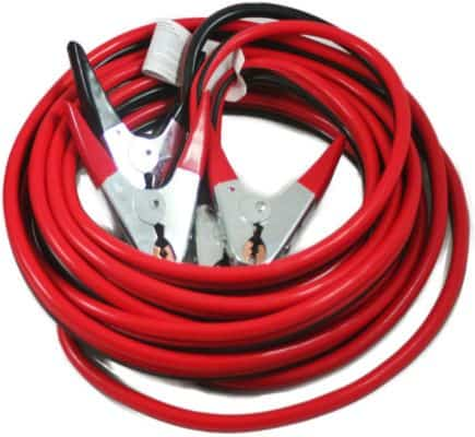 ABN Jumper Cables, 25ft Long, 2-Gauge, 600 AMP