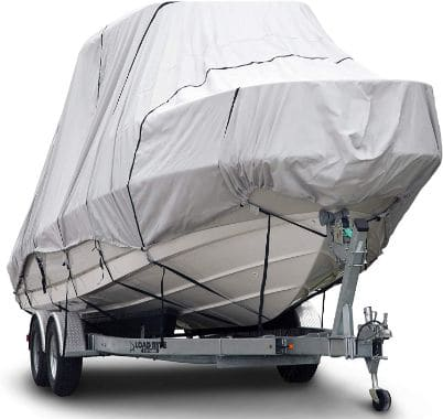 Budge 600 Denier Boat Cover fits Hard Top:T-Top Boats