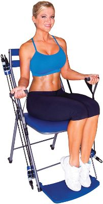 Chair Gym - The Total Body Workout – All in One Compact