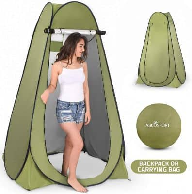 Pop Up Privacy Tent – Instant Portable Outdoor Shower Tent