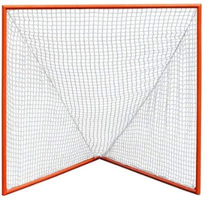 CrankShooter High School Practice Lacrosse Goal with 6mm White Net