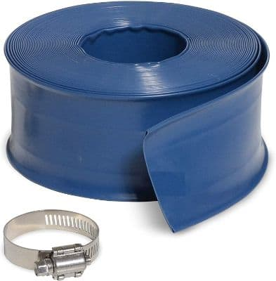 Milliard 50 ft Heavy Duty Backwash Hose, Great for Water Disposal