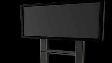 Best Rolling TV Stands For Flat Screen
