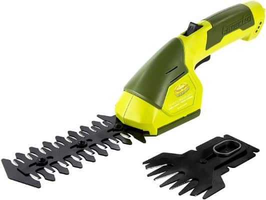 Sun Joe HJ604C 7.2 V 2-in-1 Cordless Grass Shear + Hedger