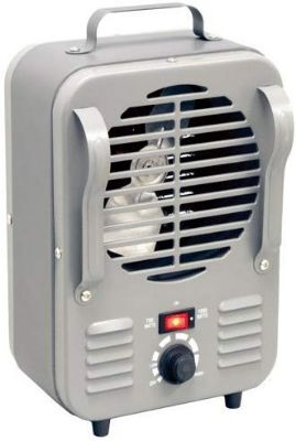 Homebasix LH872 Mini Milk House Heater, 750 1500-watt