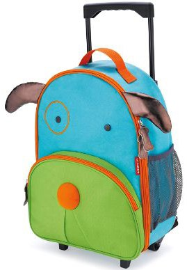 Skip Hop Kids Luggage with Wheels, Dog
