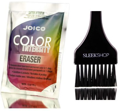 Joico Color Intensity ERASER, Removes Direct Dyes & Semi-Permanent Color in 1 Step, Conditions & Protects