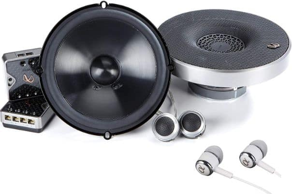 Infinity Primus PR6510CS 480W Max (160W RMS) 6.5 Inch Primus Series 2-Way Car Component Speakers
