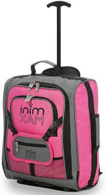MiniMAX Childrens:Kids Trolley Luggage cabin Suitcase:Backpack with Teddy Holder