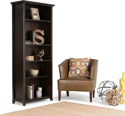 Simpli Home AXCAMH-007 Amherst Solid Wood 70 inch x 30 inch