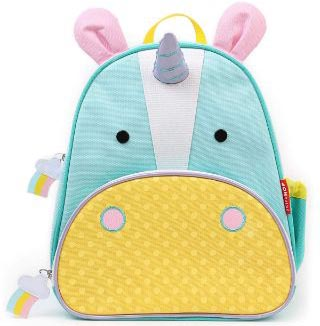 Skip Hop Toddler Backpack, 12 Unicorn School Bag, Multi