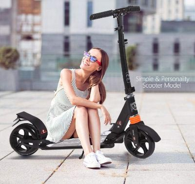 Kids:Adult Scooter with 3 Seconds Easy-Folding System