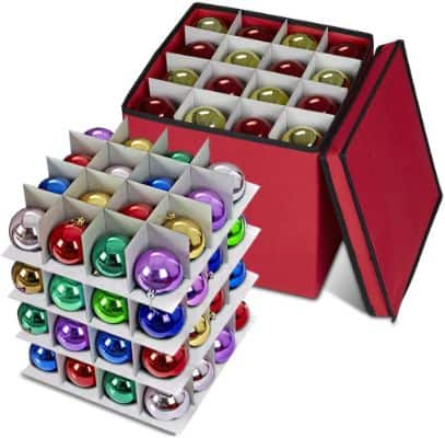 ProPik Holiday Ornament Storage Box Chest
