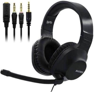 SADES SPIRIT SA721 Black Stereo Gaming Headset