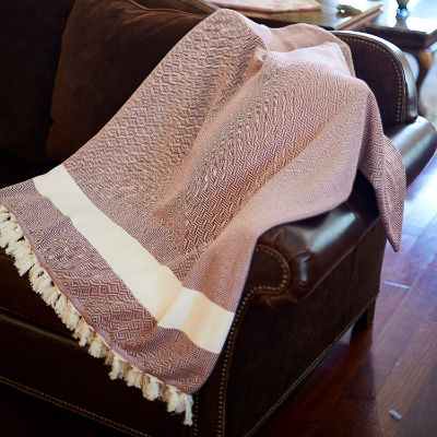 100% Cotton Throw Blanket