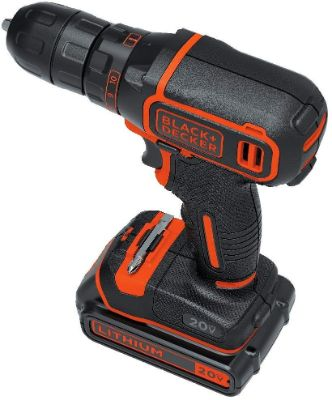 BLACK+DECKER BDCDD120C 20V MAX Lithium Single Speed Drill:Driver