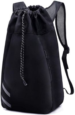 H&L Large Heavy Duty and Durable Drawstring Backpack