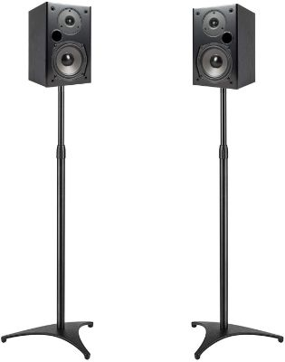 PERLESMITH Speaker Stands Extend 30-45 Inch