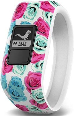 Garmin vívofit Jr, Kids Fitness:Activity Tracker, 1year Battery Life, Real Flower