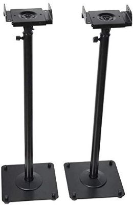 VideoSecu 2 Heavy Duty PA DJ Club Adjustable Height Satellite