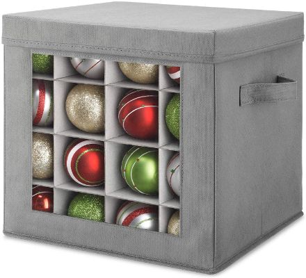 Whitmor Holiday Ornament Storage Cube