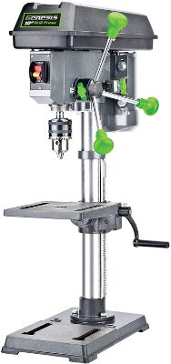 Genesis GDP1005A 10 5-Speed 4.1 Amp Drill Press with 5:8 Chuck, Integrated Work Light